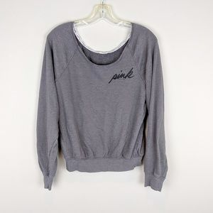 PINK Victoria's Secret | Dark Gray Sweater - W2